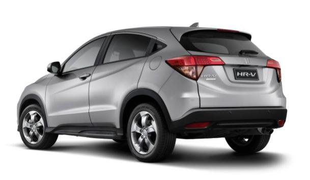 angular rear of the 2017 HR-V Limited Edition