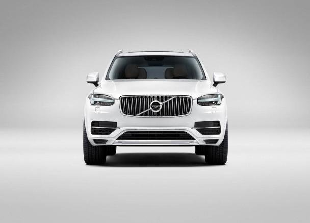 Front view of the Volvo XC90