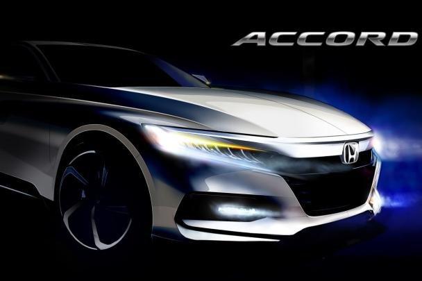 Sketch of the 2018 Honda Accord