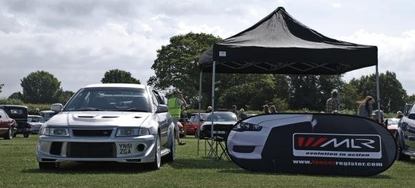 Trade stands at one car event