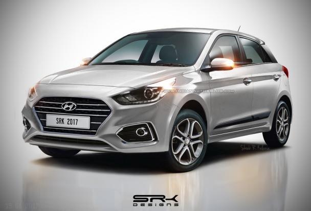 2018 Hyundai i20 rendering