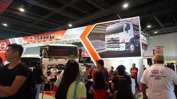 Visitors at Philbus & Truck 2017