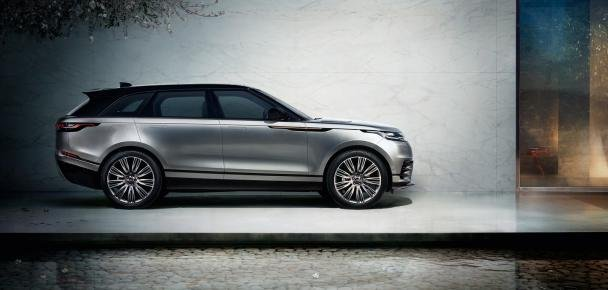 side view of the Range Rover Velar
