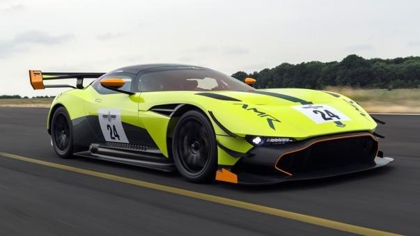Aston Martin Vulcan AMR Pro on the road