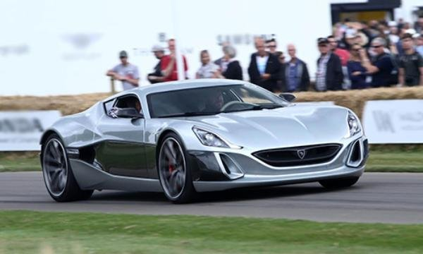angular front of the Rimac Concept One