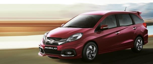 angular front of the Honda Mobilio