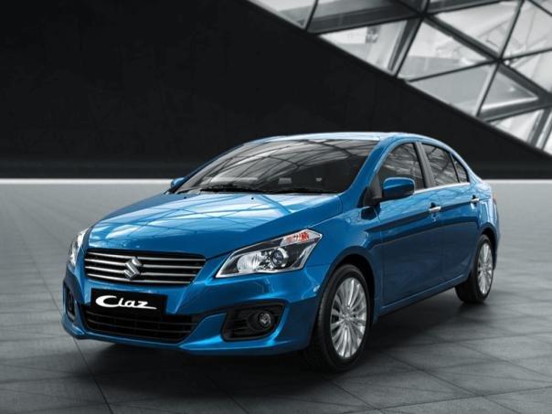 angular front of the Suzuki Ciaz