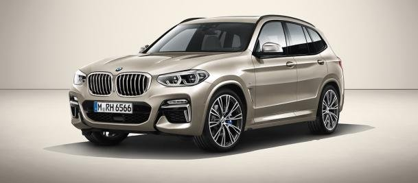 Rendering of the BMW X5 2019