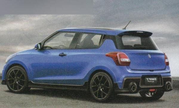 2017 Suzuki Swift Sport rendering