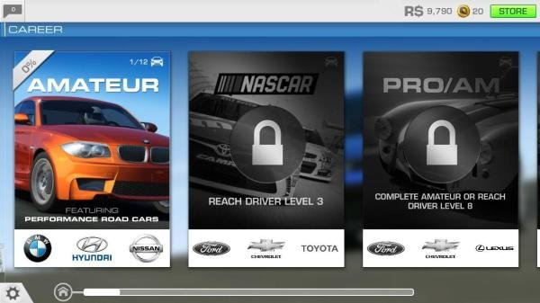 Missions in Real Racing 3