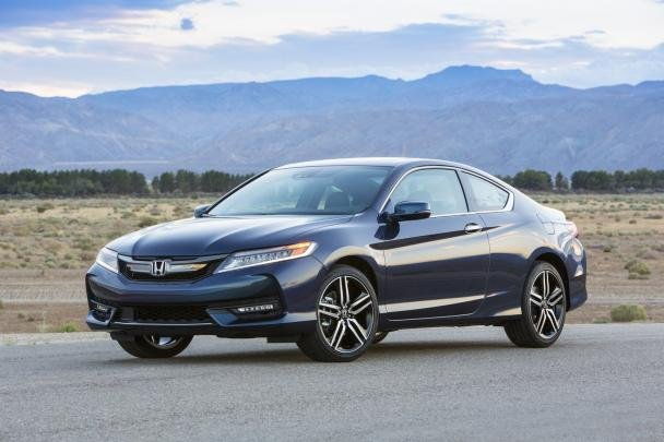 angular front of the Accord Coupe