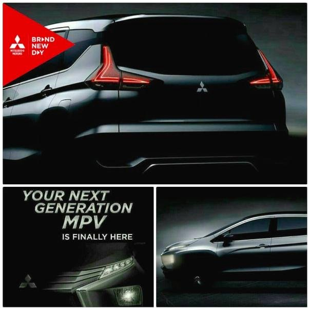 Teaser images of the Mitsubishi XM Concept