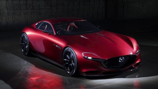 angular front of the Mazda RX-9