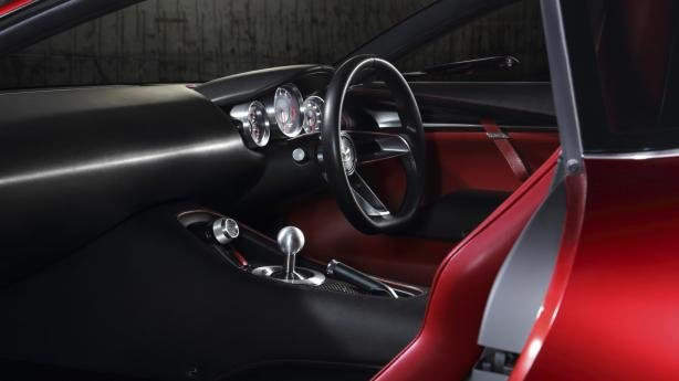 cabin of the Mazda RX-9
