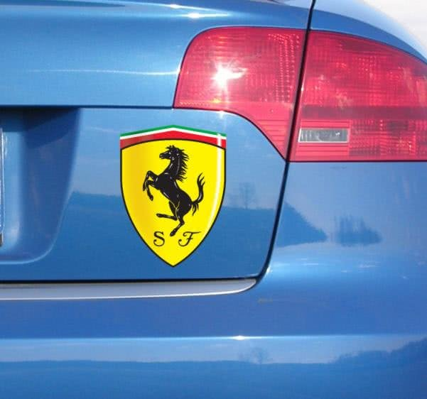 Ferrari car stickers