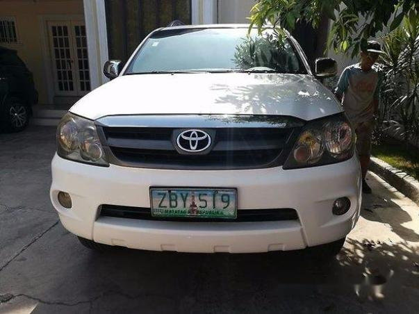 Front of the 2005 Toyota Fortuner