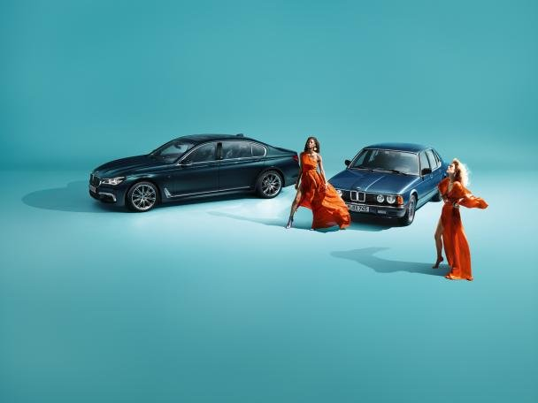 BMW 7-Series Edition 40 Jahre and two models