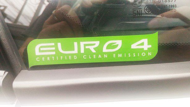 Euro 4 Certified Clean Emission