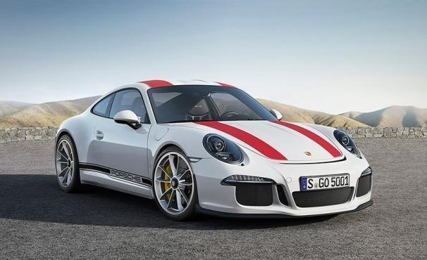 angular front of the Porsche 911