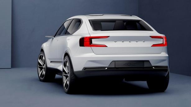 angular rear of the Volvo 40.2 Concept