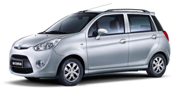angular front of the Haima 1