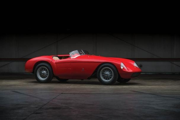 side view of the 500 Mondial Spider