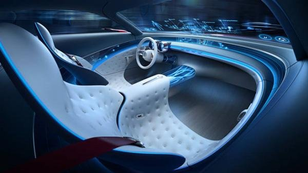 interior of the Mercedes-Maybach S600 Concept