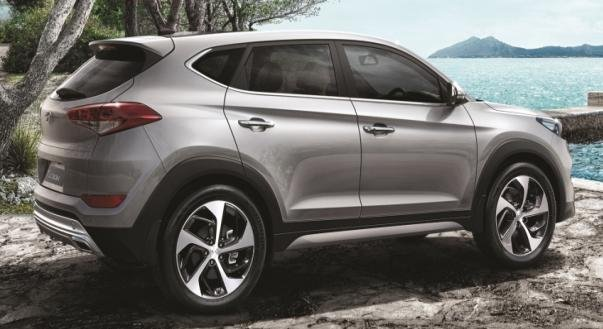 angular of the Hyundai Tucson Diesel 2.0L CRDI