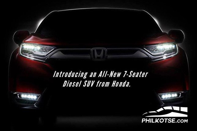 All-new 7-seat diesel Honda CR-V poster