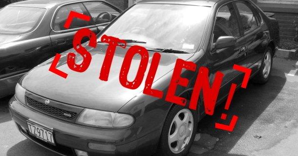 Stolen car image