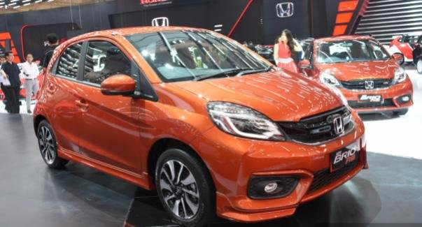 angular front of the Honda Brio RS CVT Special Edition
