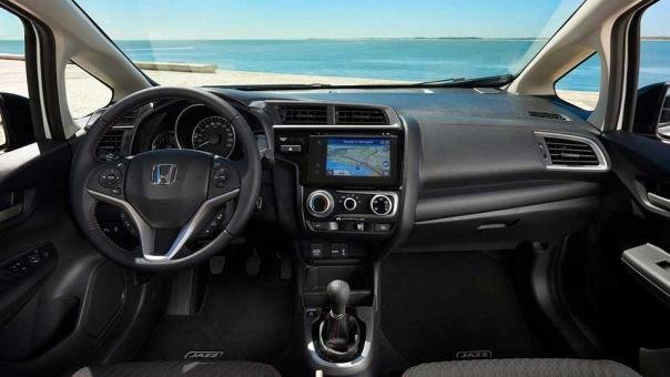 interior of the 2018 Honda Jazz