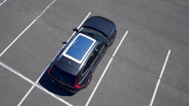 look from the top of a Volvo XC60 with Eclipse Viewer