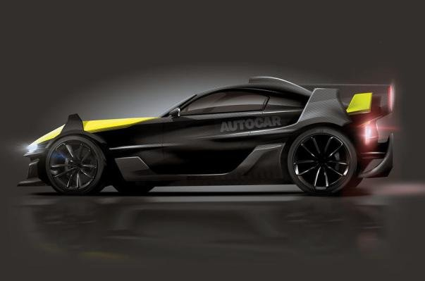 side view of Ariel supercar concept