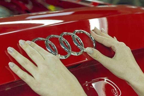 Audi logo badge