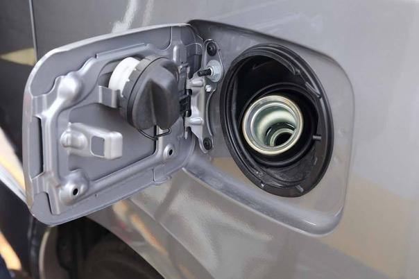 open gas cap
