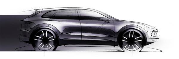The previous sketch of the 2018 Porsche Cayenne