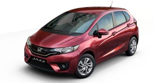 angular front of the 2017 Honda Jazz Privilege Edition