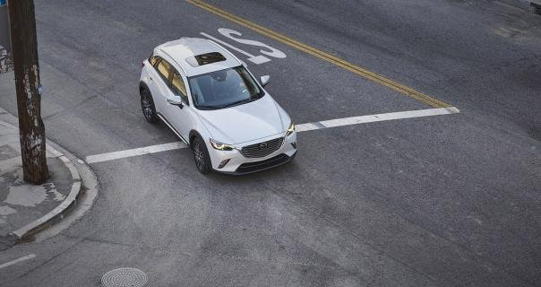a high view of the Mazda CX-3 2018