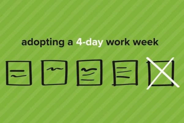 illustration a 4-day workweek