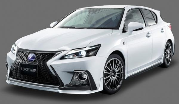 angular front of the 2018 Lexus CT 200h