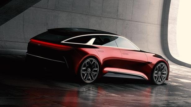 rear view of the new Kia concept