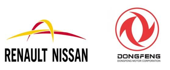 Renault-Nissan and Dongfeng logos