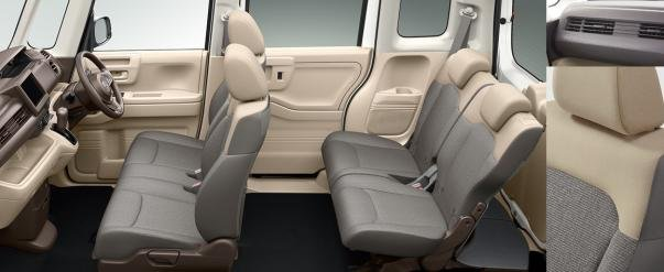 interior of the Honda N-Box