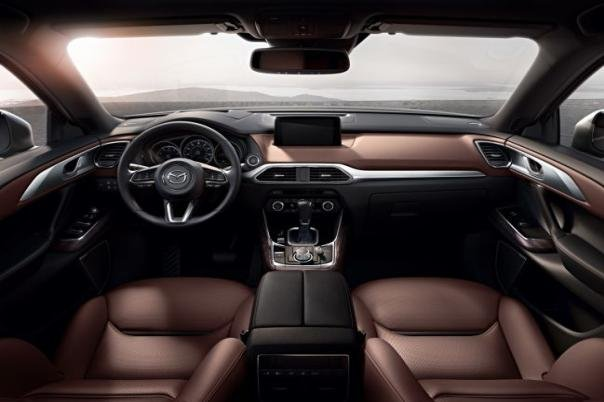 interior of the 2018 Mazda CX-9