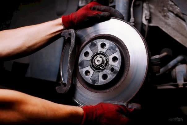 a car brake