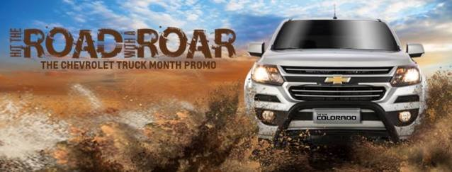 The Chevrolet Truck Month Promo offical poster