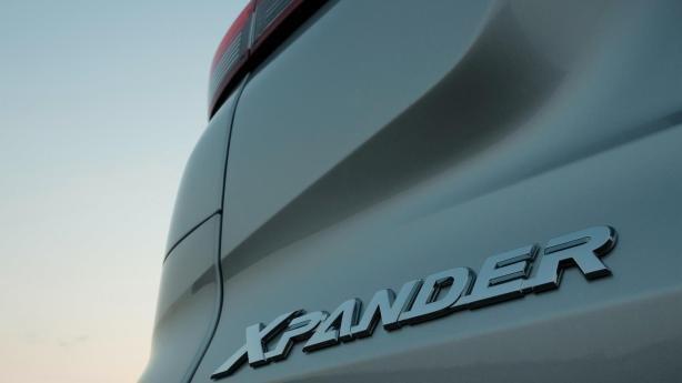 Xpander badging on the Mitsubishi Xpander 2018