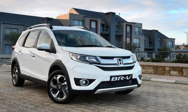 angular front of the 2017 Honda BR-V