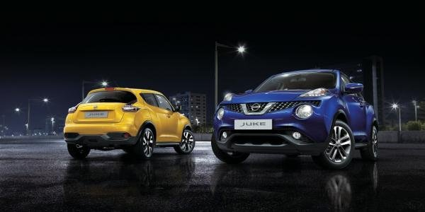 Two 2017 Nissan Juke models